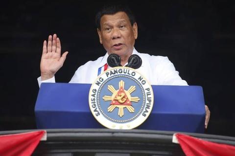 Ong Duterte bat ngo de cap kha nang tu chuc som hinh anh