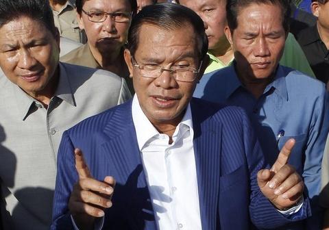 Thu tuong Hun Sen: Toi khong ghet nguoi My hinh anh