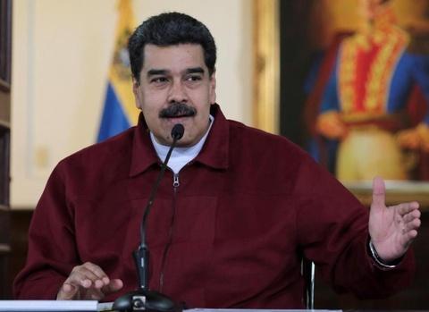 Venezuela to 3 nuoc tiep tay am muu am sat Tong thong Maduro hinh anh
