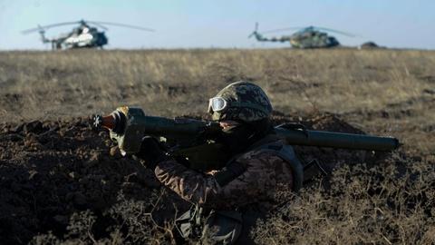 Ukraine ram ro tap tran phong khong, chong do bo tu Nga hinh anh