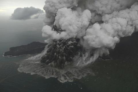 Indonesia so nui lua Anak Krakatoa do sup, gay them song than hinh anh 1
