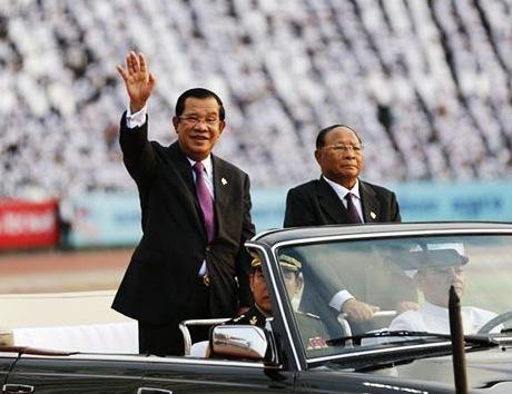 Thu tuong Hun Sen: Nghia cu cua Viet Nam mai duoc khac ghi hinh anh