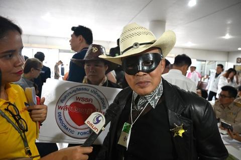 Sieu anh hung va 10 Thaksin: Ngay dang ky tranh cu vui nhu hoi o Thai hinh anh