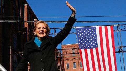 Thuong nghi si Elizabeth Warren tuyen bo tranh cu tong thong 2020 hinh anh