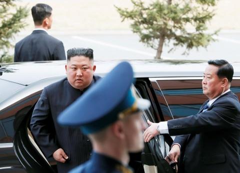 Le binh Nga nghiem chao ong Kim Jong Un den gap Tong thong Putin hinh anh 7