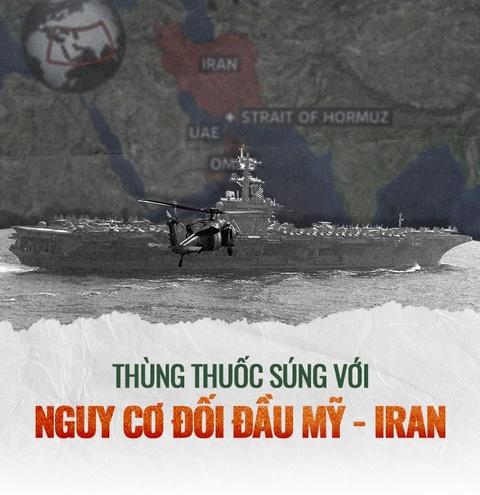 Thung thuoc sung voi nguy co doi dau My - Iran can ke hinh anh 1