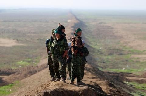 My phan boi nguoi Kurd, thanh qua 5 nam chong IS sup do trong mot tuan hinh anh