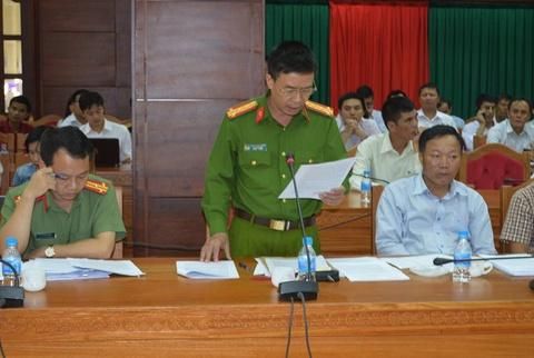 Cong an Dak Lak: VTV dan dung canh pha rung de lam phong su hinh anh