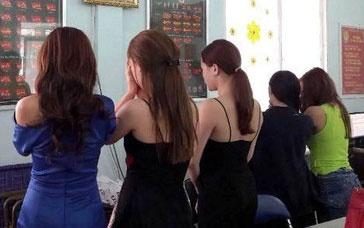 Cac co gai tham gia duong day ban dam nghin do tai Sai Gon hinh anh