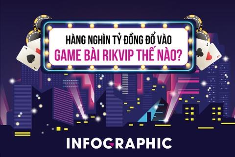 Hàng nghìn tỷ đổ vào game đánh bạc Rikvip thế nào?