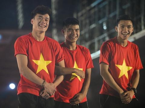 U23 Viet Nam la hat giong so mot vong loai U23 chau A 2020 hinh anh
