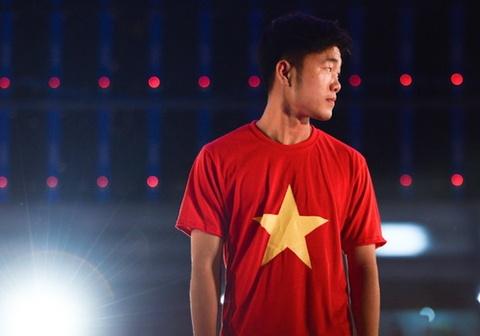Xuan Truong khang dinh U23 Viet Nam khong ngu quen tren chien thang hinh anh