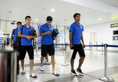 U23 Uzbekistan di dep le, mac quan dui, den tai dau U23 Viet Nam hinh anh
