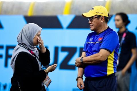 Tuyen Viet Nam dam mua tap luyen truoc chung ket AFF Cup voi Malaysia hinh anh 8