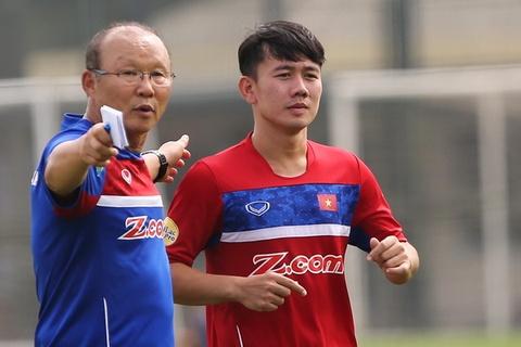 HLV Park Hang-seo gọi Minh Vương trở lại chuẩn bị cho Asian Cup 2019