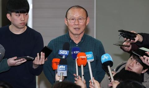 HLV Park: 'Khong the hoan vong loai U23 chau A de gap Han Quoc' hinh anh 1