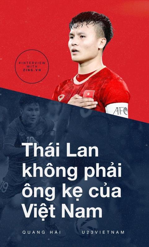 Quang Hai: 'Thai Lan khong phai ong ke cua Viet Nam' hinh anh 1