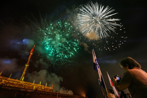 Khai mac Festival Hue 2016 voi am nhac va phao hoa hinh anh 13