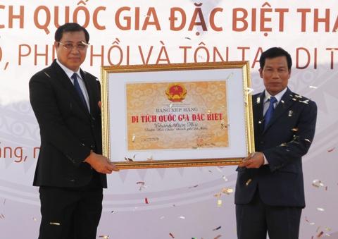 Noi tuong Nguyen Tri Phuong dong quan thanh di tich quoc gia dac biet hinh anh