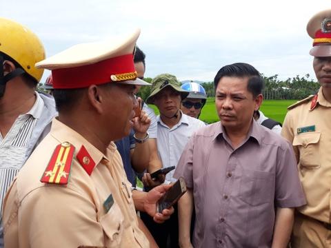 Bo truong Nguyen Van The: Vu tai nan o Quang Nam do chu quan hinh anh