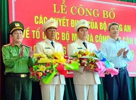 Da Nang co 8 Pho giam doc Cong an hinh anh