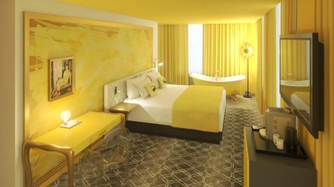 Độc đáo khách sạn 4 màu, chọn phòng theo cảm xúc