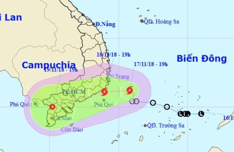 TP.HCM chỉ đạo khẩn ứng phó bão số 8