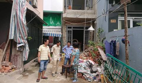 9X thiệt mạng sau khi rơi từ tầng 2 căn nhà đang được tháo dỡ