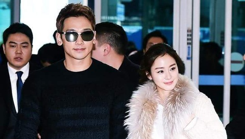Dau nam, Kim Tae Hee va Bi Rain ngot ngao du lich Nhat Ban hinh anh