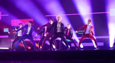 BTS bieu dien tai ban ket America's Got Talent 2018 hinh anh
