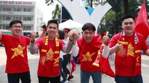 CDV tai Nha van hoa Thanh nien co vu het minh cho U23 VN hinh anh