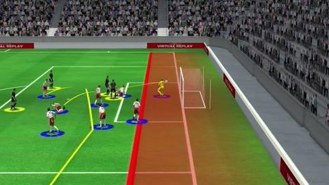 Highlight 3D: Croatia 1-1 Dan Mach hinh anh