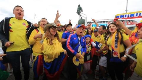 Fan Colombia dat tron niem tin vao 'manh ho' Falcao hinh anh