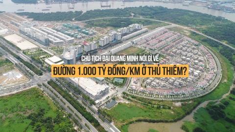 Chu tich Dai Quang Minh noi gi ve duong 1.000 ty dong/km o Thu Thiem? hinh anh 2