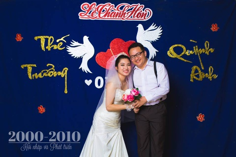 Dan mang thich thu voi bo anh '100 nam dam cuoi Viet Nam' hinh anh 9
