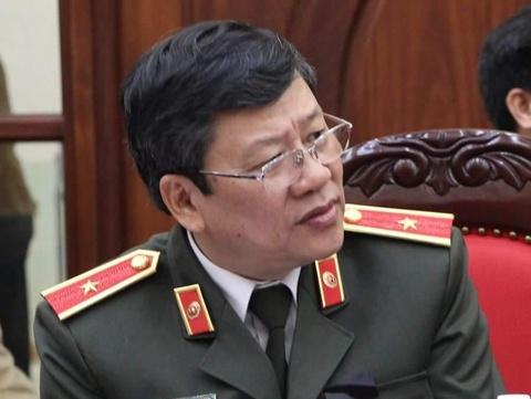 Pho giam doc Cong an Ha Noi muon giu loa phuong hinh anh