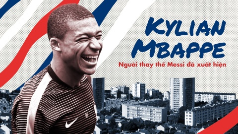 Kylian Mbappe, nguoi thay the Messi da xuat hien hinh anh 2