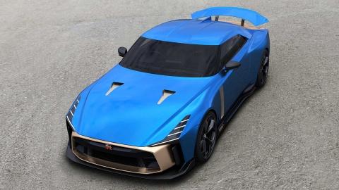 Sieu pham Nissan GT-R50 ban 'handmade' gia 1,2 trieu USD hinh anh