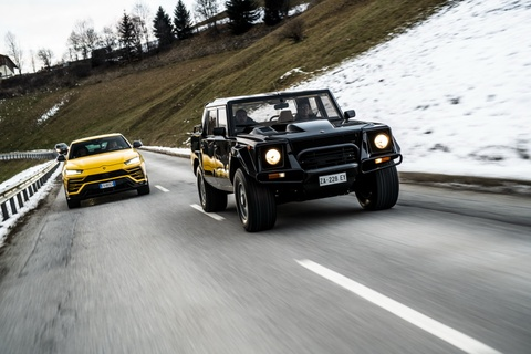 Doan sieu SUV Lamborghini phuot xuyen Italy mung Giang sinh hinh anh 6