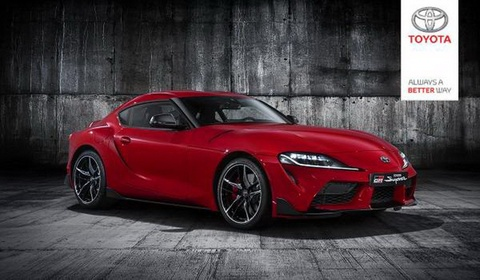 Toyota Supra 2020 lo nguyen hinh truoc ngay ra mat hinh anh