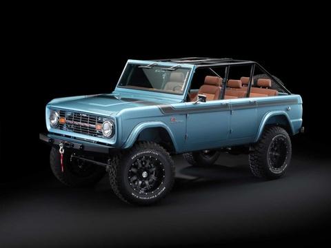 Xe co Ford Bronco 1966 manh 670 ma luc, gia 250.000 USD hinh anh