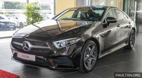 Mercedes-Benz CLS 350 den DNA, gia gan 140.000 USD hinh anh