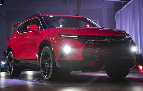 Chevrolet Blazer 2019 - SUV 5 cho gia toi da 65.000 USD hinh anh 11
