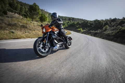 Harley-Davidson LiveWire - mo dau ky nguyen moto dien cua hang xe My hinh anh