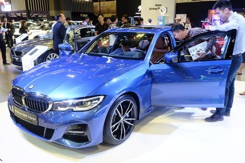 BMW 3-Series 2019 ra mat Dong Nam A, ve VN trong nam nay hinh anh