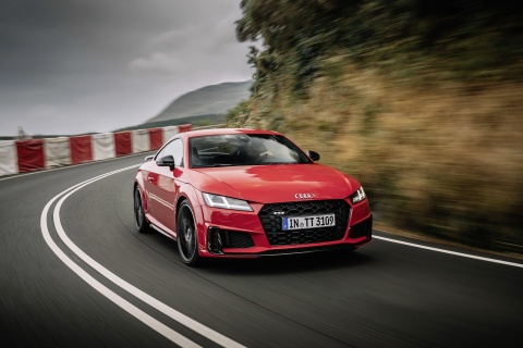 Audi TTS 2019 co them phien ban dac biet Competition hinh anh