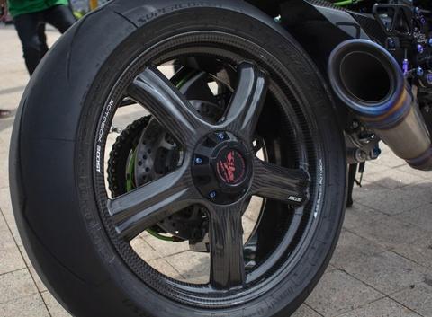Kawasaki Ninja 'H2R' gia hon 3 ty dong cua biker An Giang hinh anh 9