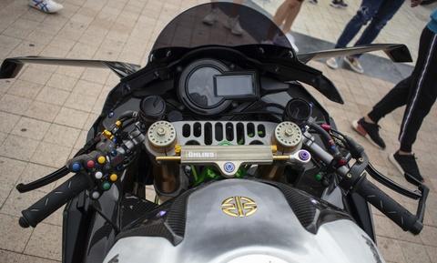 Kawasaki Ninja 'H2R' gia hon 3 ty dong cua biker An Giang hinh anh 8