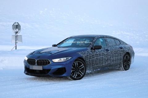 BMW 8-Series 2020 lo anh nong ban Gran Coupe 4 cua hinh anh 2