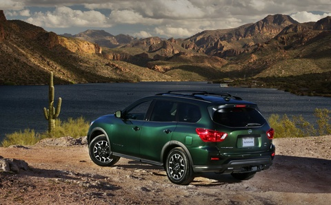 Nissan Pathfinder ra mat ban nang cap chuyen offroad hinh anh 4